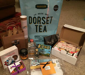 Food bloggers goodie box