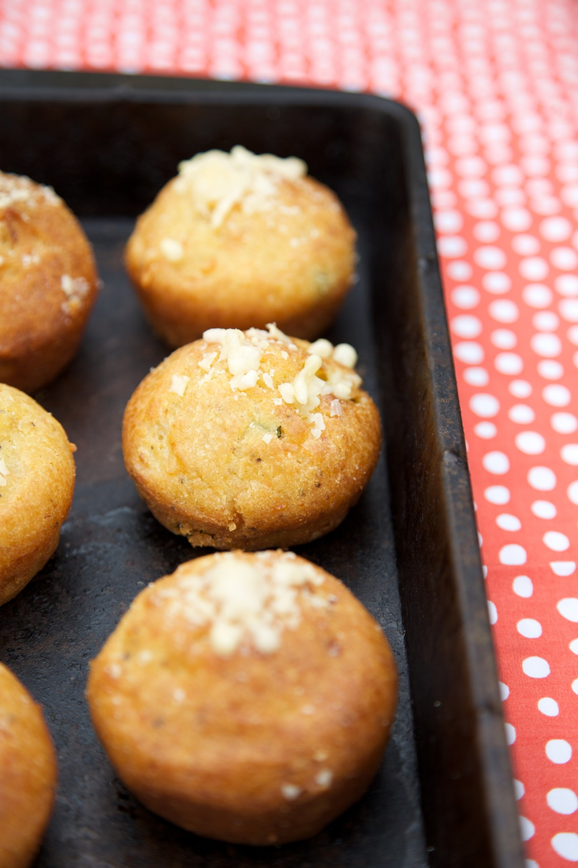 Courgette and Parmesan Muffins recipe | Em's Blog ...