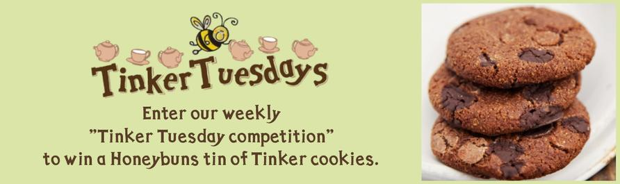 Win gluten free cookies Tinker Tuesday