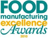 food manufacturing Excellence Awards 2010 logo