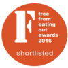 Free From Eating Our Award finalist logo