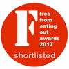 Free From Eating Out Awards shortlisted winner