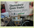 Glastonbury Green Traders Silver Award 2009