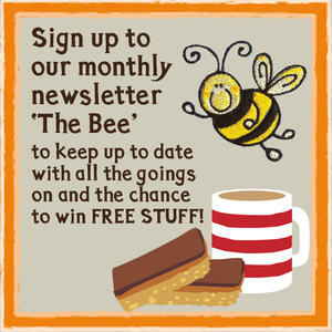Sign up to our e-newsletter to win free stuff and all our news