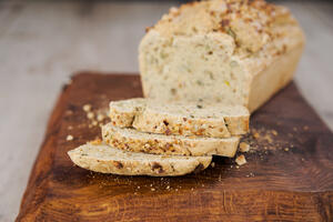 Gluten, dairy and nut free seeded loaf recipe