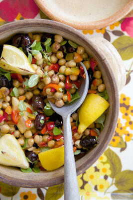 gluten free chickpea salad recipe