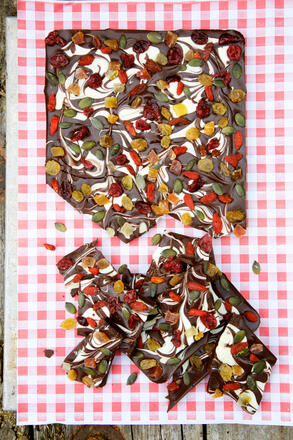 Gluten free chocolate bark recipe
