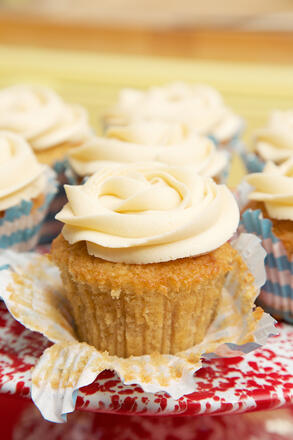 Glutenfree Early Grey Tea sponge cupcakes recipe