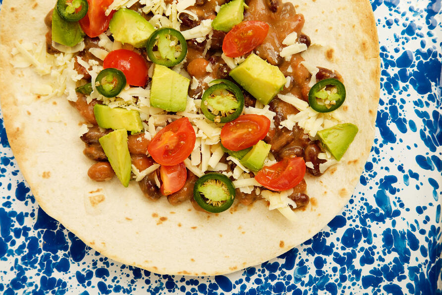 Gluten free tostados recipe makes a great pancakes alternative