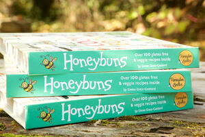 Honeybuns all day cook book filled with gluten free and free from recipes