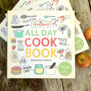 Gluten free and vegetarian gluten free cook book from Honeybuns