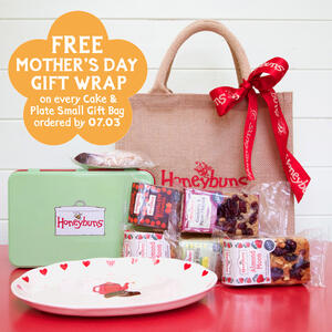 Gluten free Cake and Plate Mothers Day gift