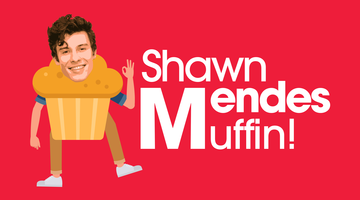 Shawn Mendes apple muffin logo