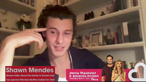 Shawn Mendes gluten free Muffin interview