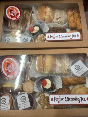 Thyme after Time festive afternoon tea pack