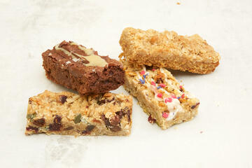 4 new gluten free and vegan traybakes for wholesale