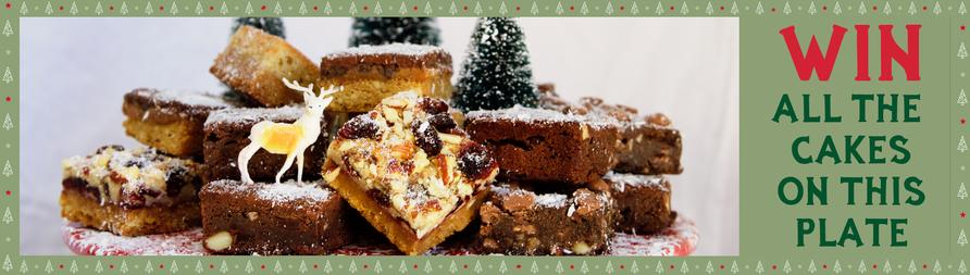 Win Honeybuns gluten free cakes in our Christmas competition