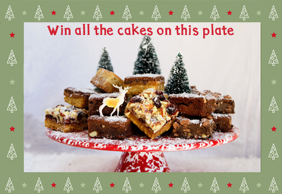 Win Honeybuns gluten free cakes this Christmas