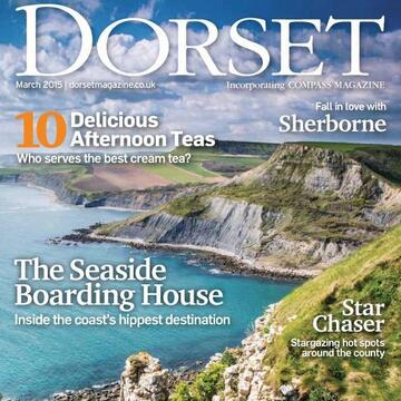Dorset mag March 2015 front cover
