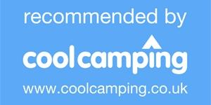 Recommended by Cool Camping logo