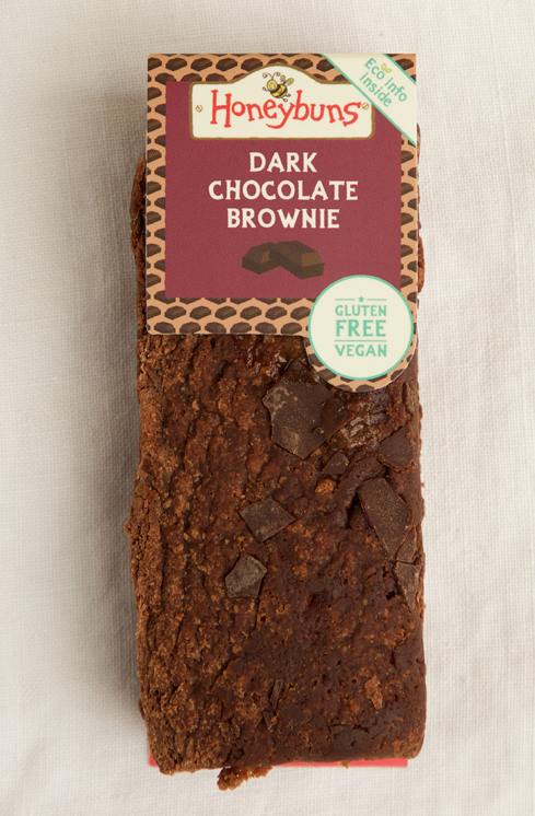 Gluten free vegan Dark Chocolate Brownie