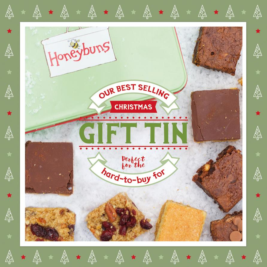 The Honeybuns online shop is full to bursting with Christmas gift ideas, including gluten free cakes, stocking fillers, gift vouchers and presents to spoil them with!