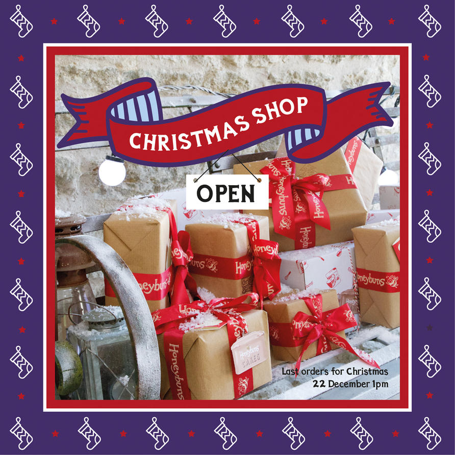 Honeybuns Christmas shop open for gorgeous gifts and festive cakes