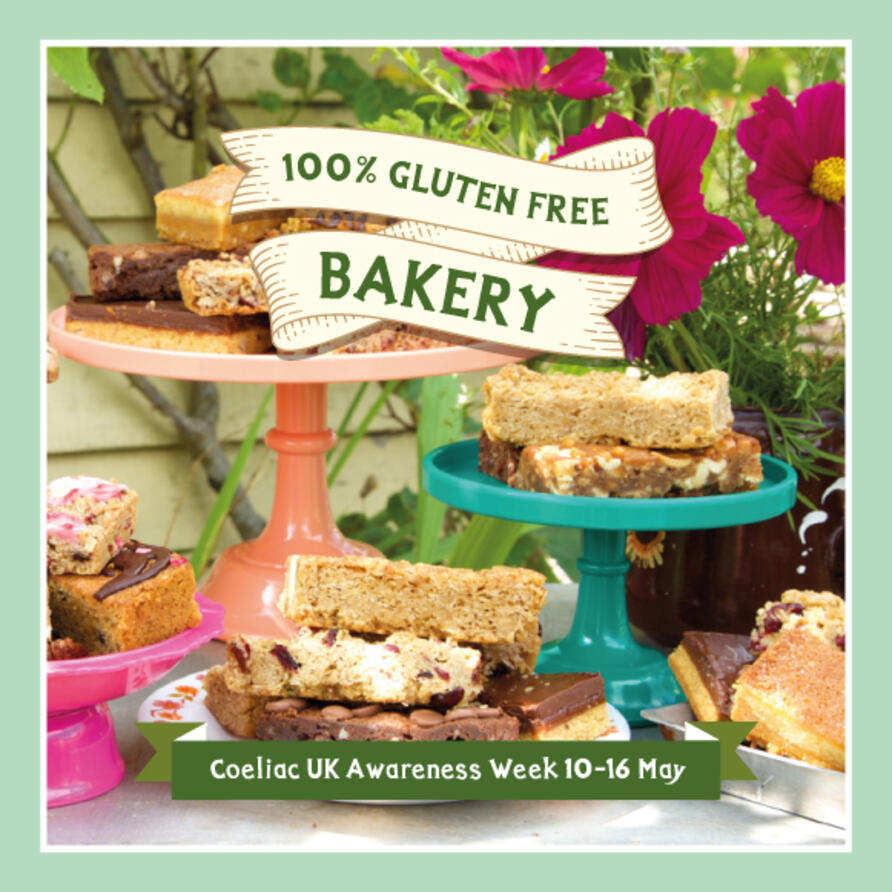 Gorgeous gluten free cakes and gifts to buy online and send by mail order for UK delivery