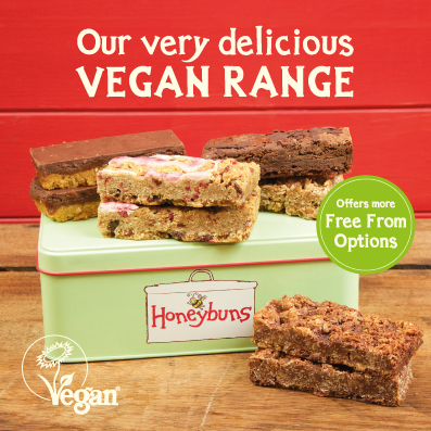 Image Describing Honeybuns Range Of Free From Cakes