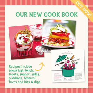 We're one of the leading free from bakeries supplying gorgeous cakes and traybakes for UK foodservice. All our cakes are gluten free and vegetarian, and we also have plant based vegan and dairy free options too. Our new recipe book 'Honeybuns All Day Cook Book' is filled with gluten free& vegetarian sweet and savoury recipes with vegan, dairy free and nut free options too.