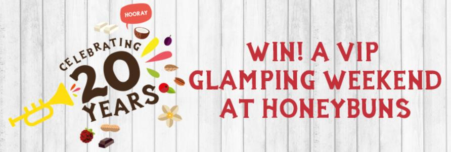 Win a gluten free glamping weekend at our artisan bakery in Dorset, UK