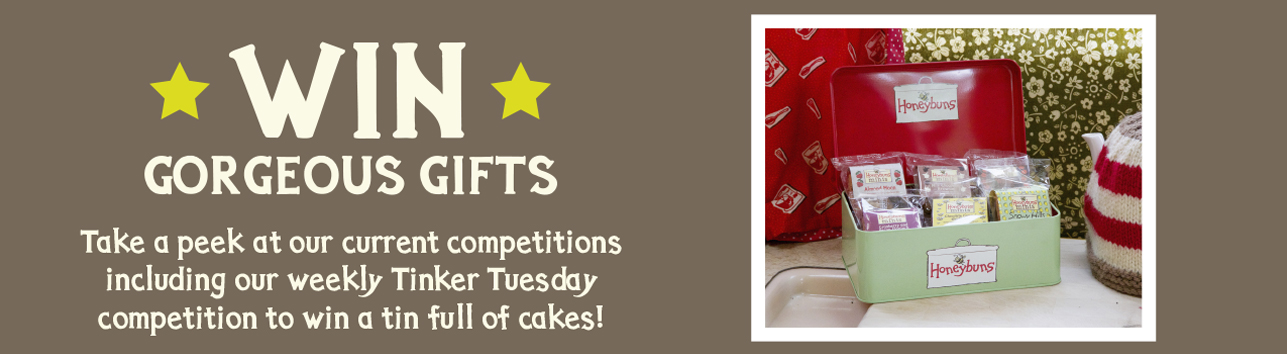 Win gorgeous Honeybuns in our competitions