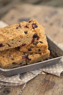 Fine Food digest fruit flapjack