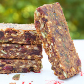 Honeybuns gluten free and dairy free Fruity Nut Bar