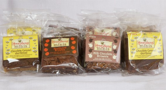 Selection of chocolate minis in packaging