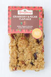 Honeybuns cranberry and pecan flapjack gluten free