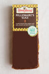 Gluten free and vegan Millionaire's Slice. This cake is made with dates and is palm oil free