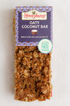 Honeybuns gluten free Oaty Coconut Bar slice