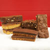 Chocolate afficionado refill pack of 6 cake slices