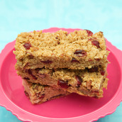 Honeybuns Gluten free Cranberry and Pecan Flapjack