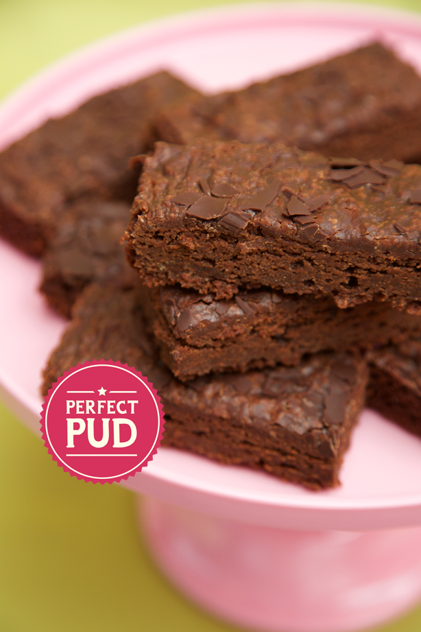 Decadent and fudgy plant based Dark Chocolate Brownie cakes
