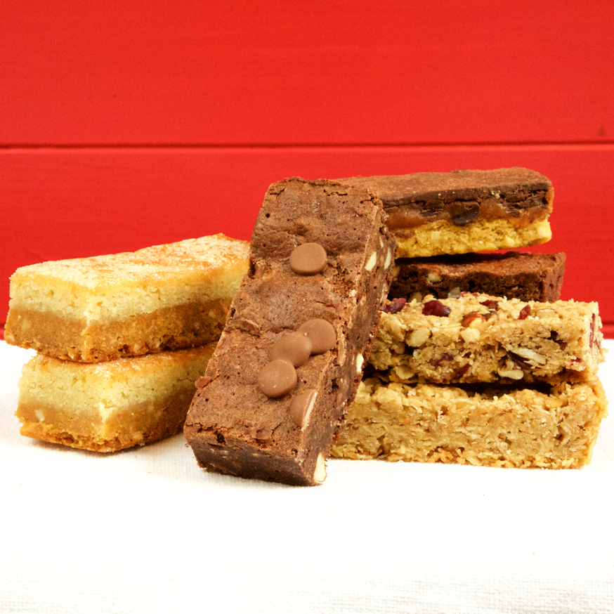 gluten free Cheeky Honeybuns mix refill pack cake slices