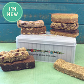 Afternoon Tea gift tin selection of handmade gluten free cakes