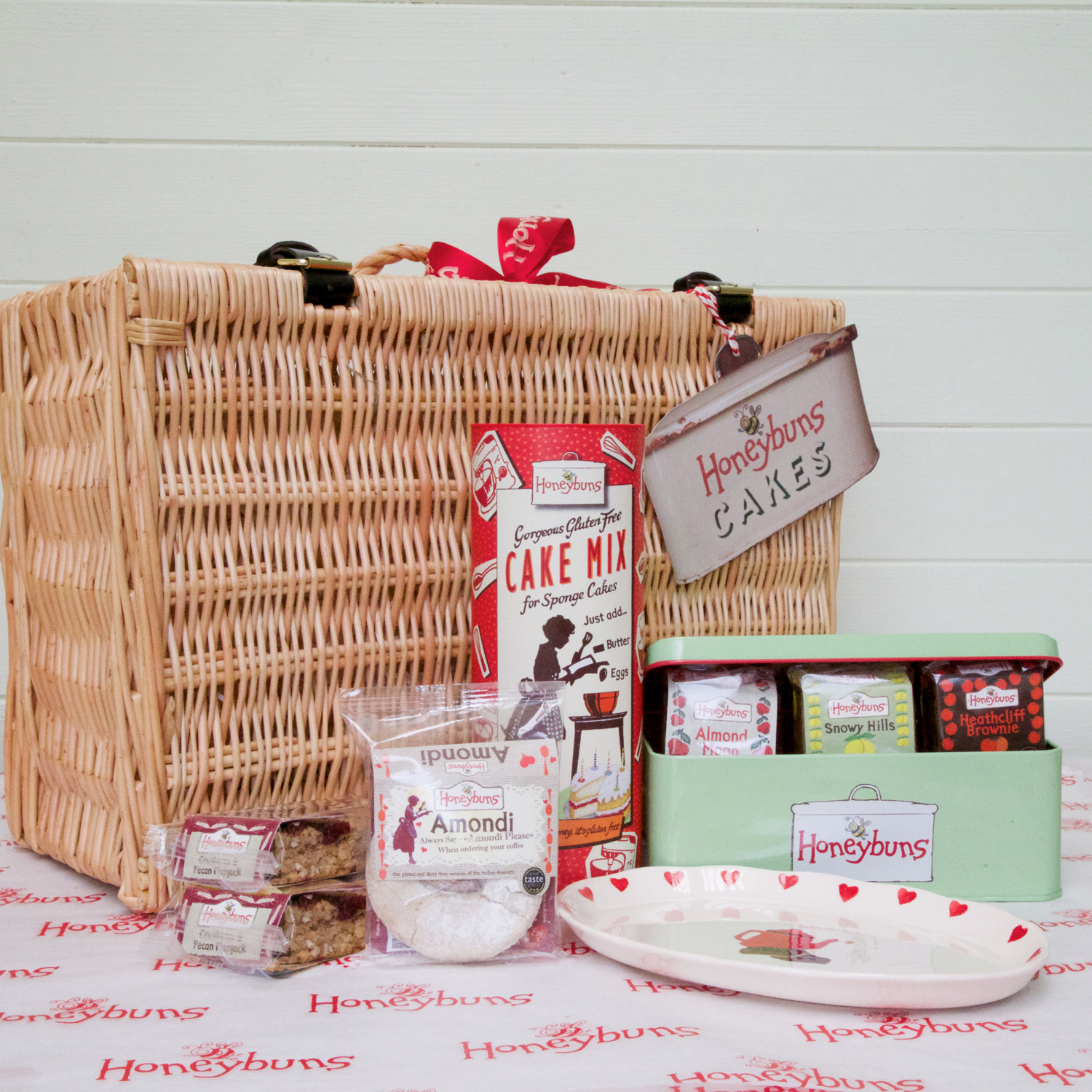 Afternoon tea hamper honeybuns honeybuns honeybuns gluten free afternoon tea hamper negle Choice Image