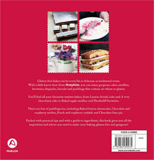 Honeybuns gluten free baking book back cover