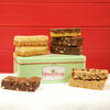 Cheeky Honeybuns gift tin gluten free cake slices