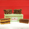 Chocolate Afficionados gift tin cake slices