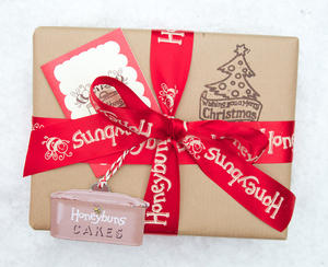 Honeybuns charming Christmas gift wrap for all your presents