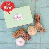 Dairy free cakes with gift tin