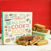 gluten free gift tin and Honeybuns All Day Cook Book free from recipes